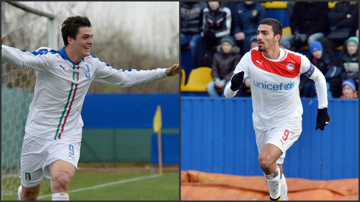 Andrea Favilli y Nikolaos Vergos, los delanteros mejor colocados para reforzar al Castilla.