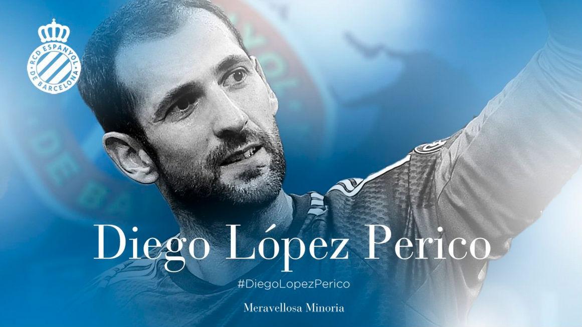 El Espanyol da la bienvenida a Diego López.