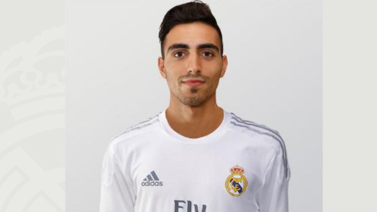 Nikos Vergos ya aparece en la web del Real Madrid.