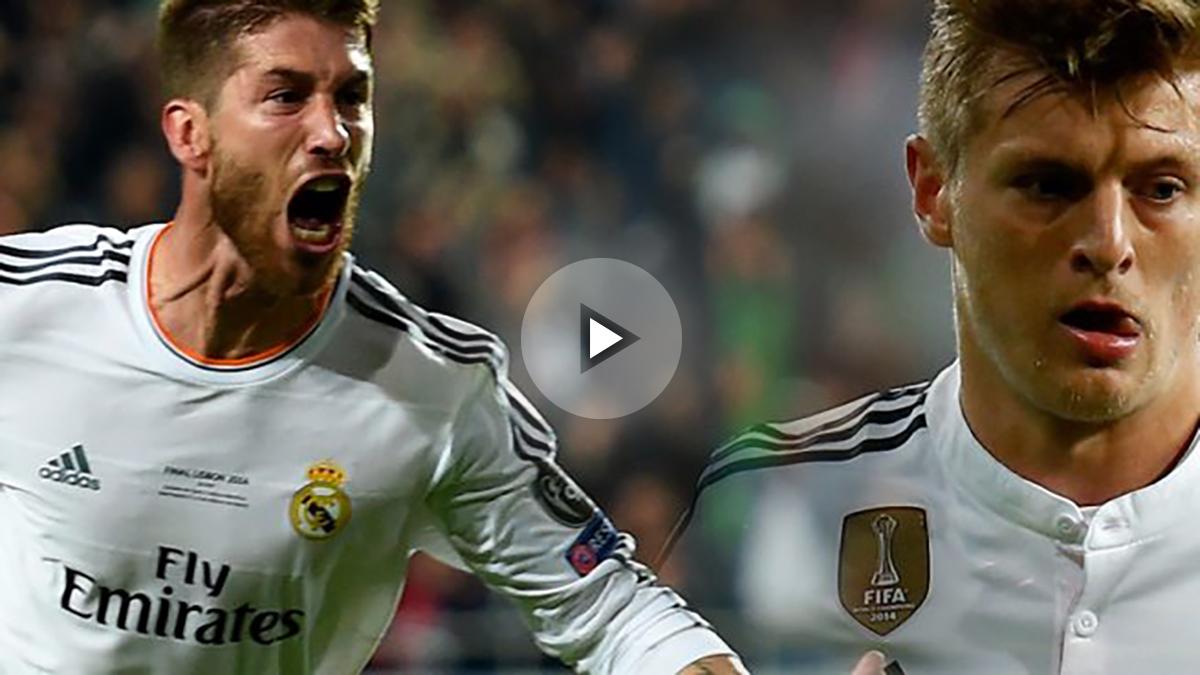 Kroos y Ramos descansan contra el Eibar