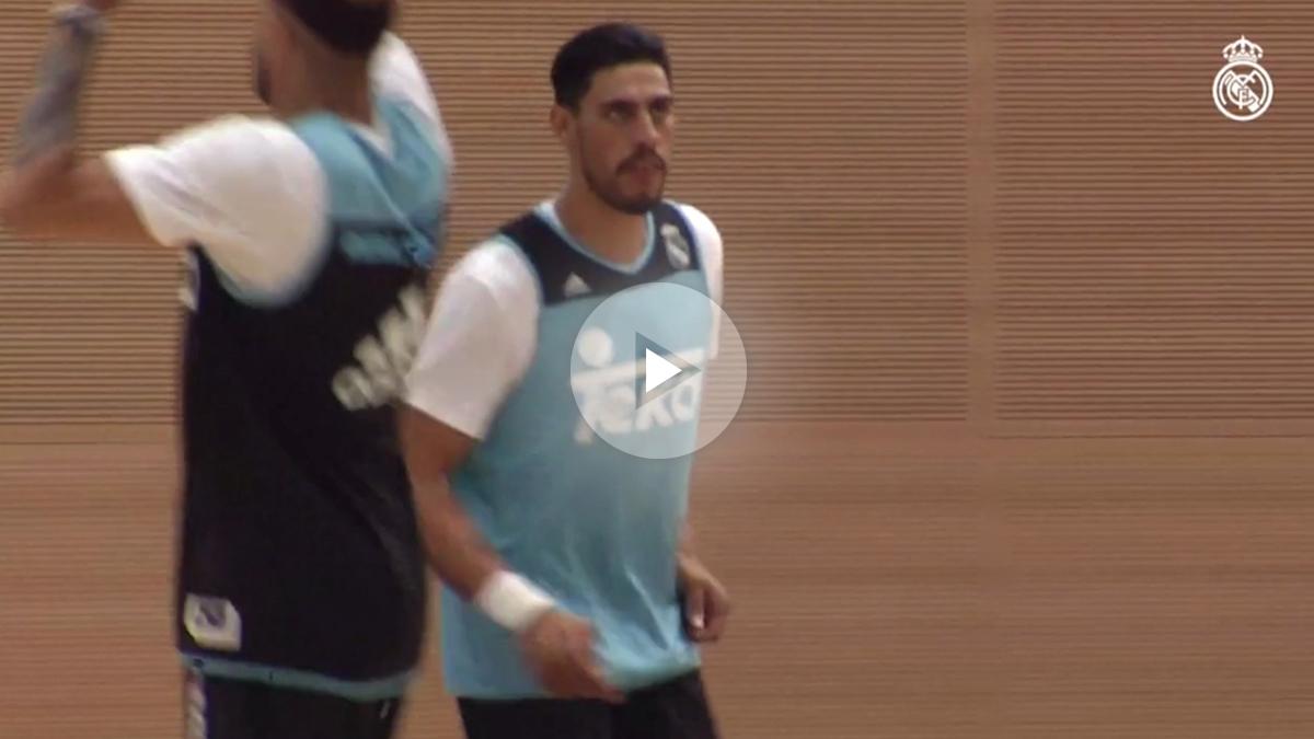 El Real Madrid ya tiene a su Titán: Ayón regresa al equipo con las pilas cargadas