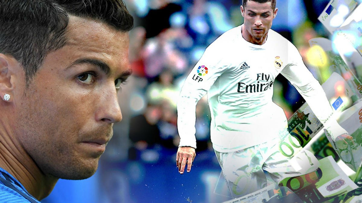 Cristiano Ronaldo es una máquina de hacer dinero.