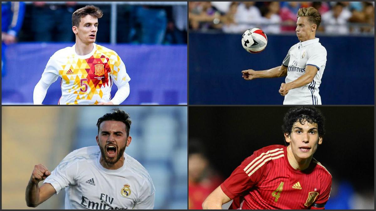 El Real Madrid tiene jugadores cedidos para mantener el nivel.
