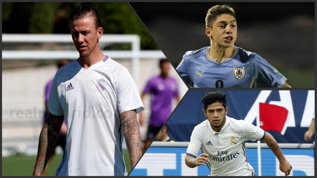 Federico Valverde y Sergio Díaz reforzarán al Juvenil A en la UEFA Youth League.