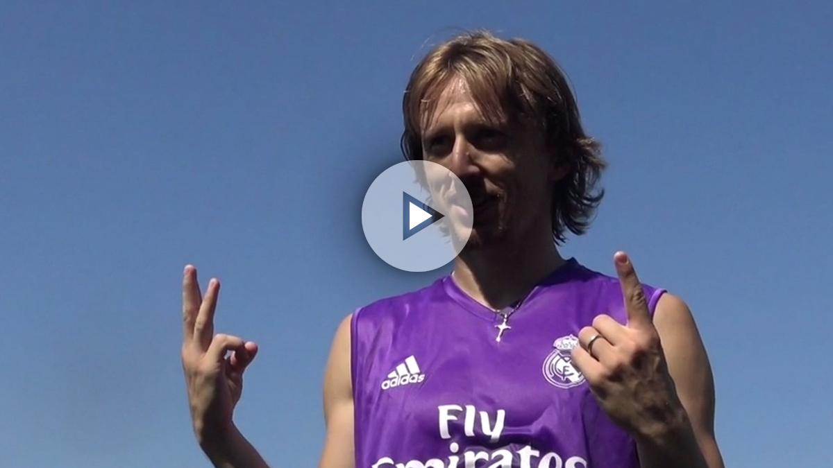 Luka Modric cumple 31 años. (realmadrid.com