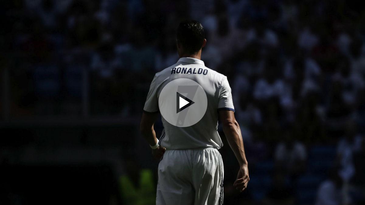 El Bernabéu se vino abajo para despedir a Cristiano