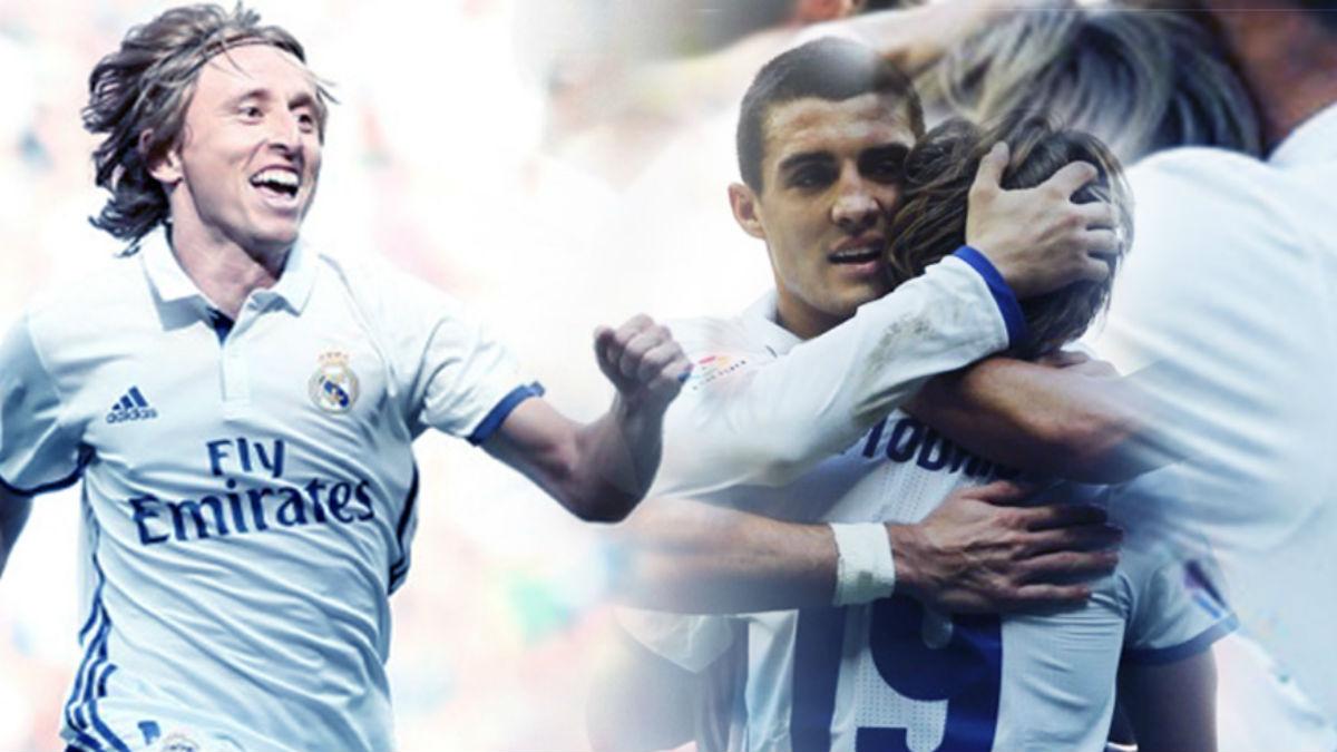 Luka Modric tiene ganado al Bernabéu y a sus compañeros.
