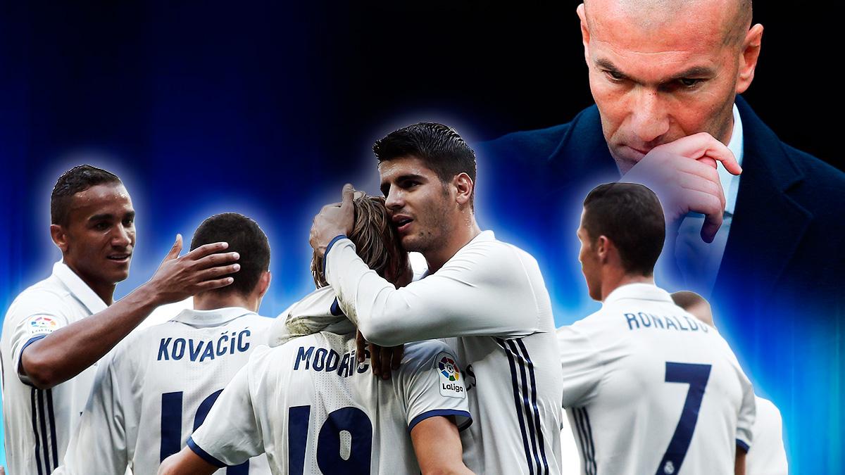 Los 24 hijos de Zidane