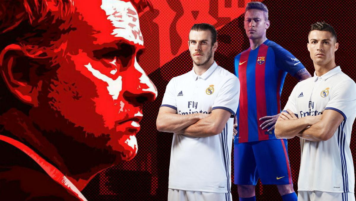 Mourinho mira a Bale, N