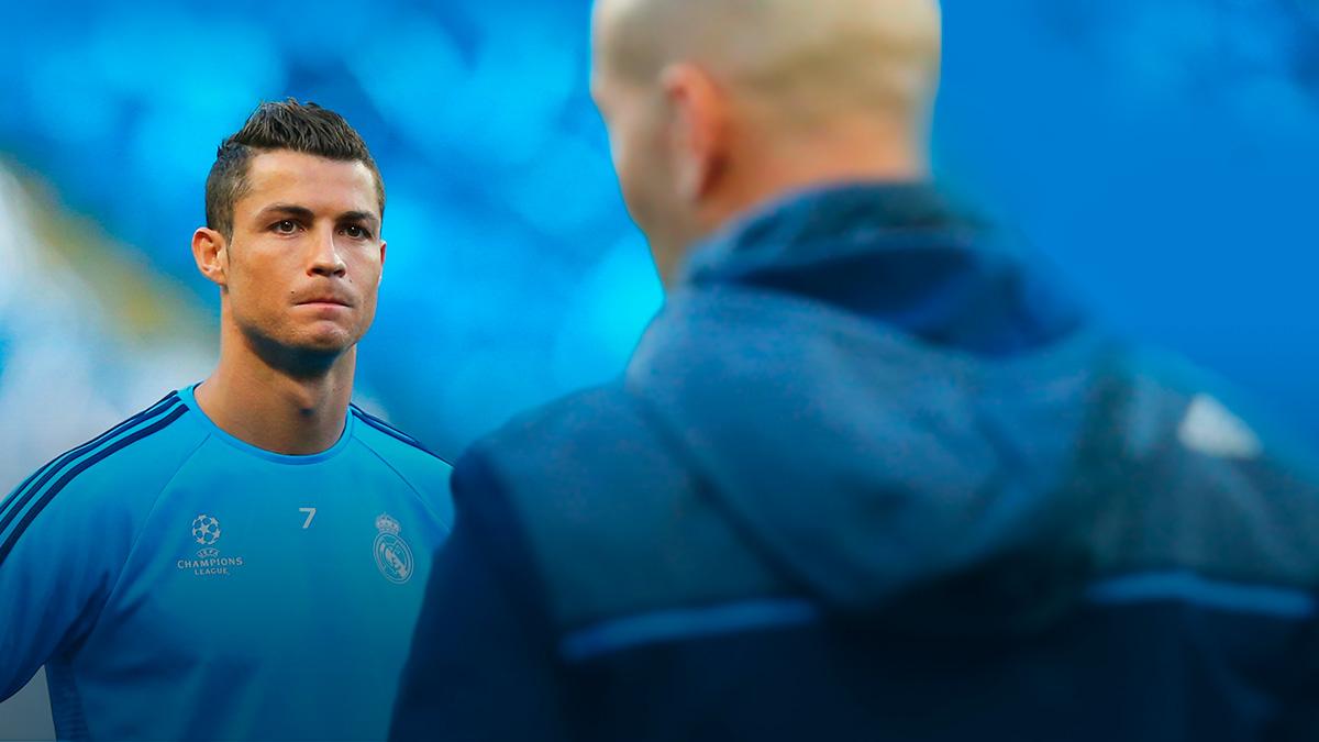 Se desvela la conversación entre Cristiano y Zidane.