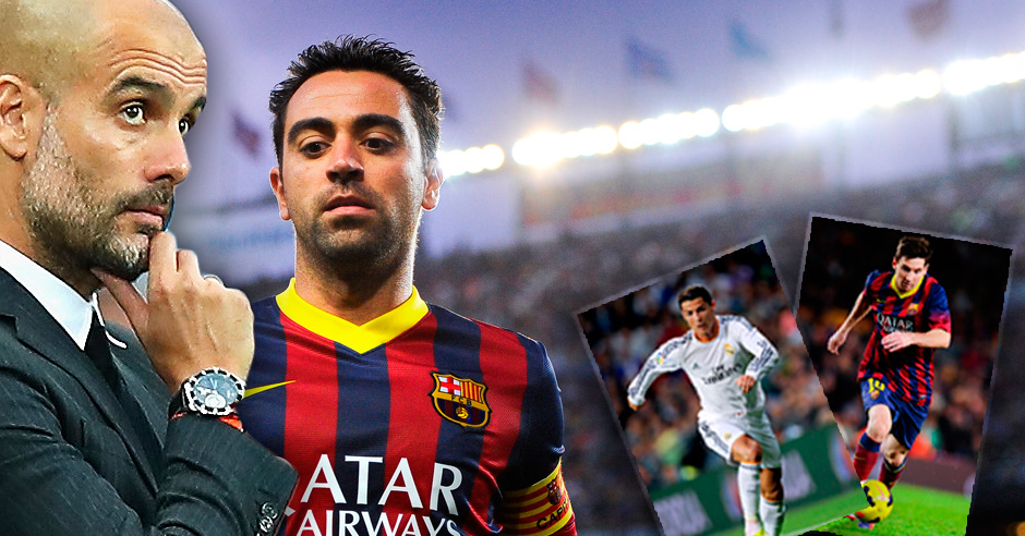 Pep, Xavi, recordad: Cristiano 94-86 Messi