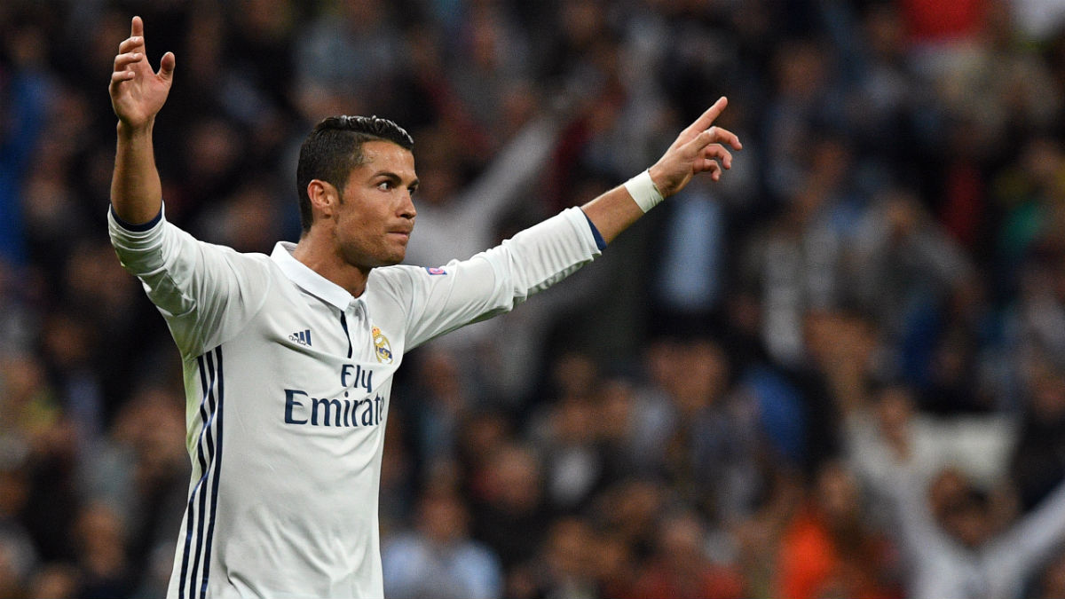 Cristiano celebra el gol contra el Sporting. (AFP)