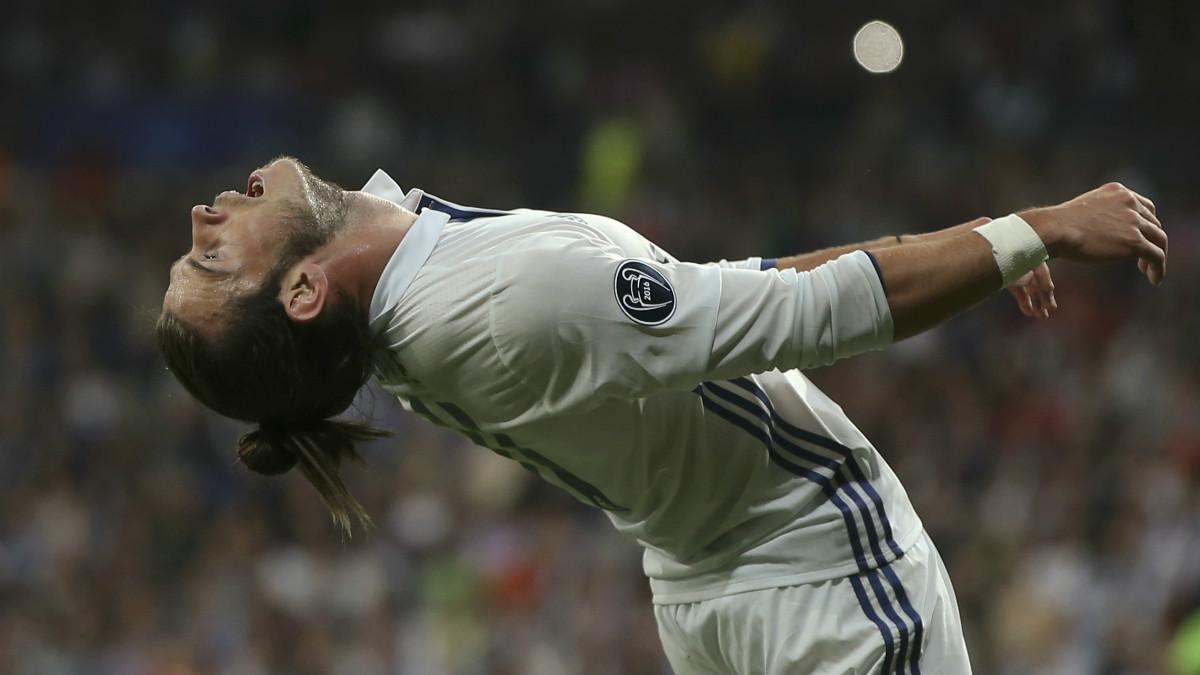 Gareth Bale, en el partido de la Champions ante el Sporting. (Getty)