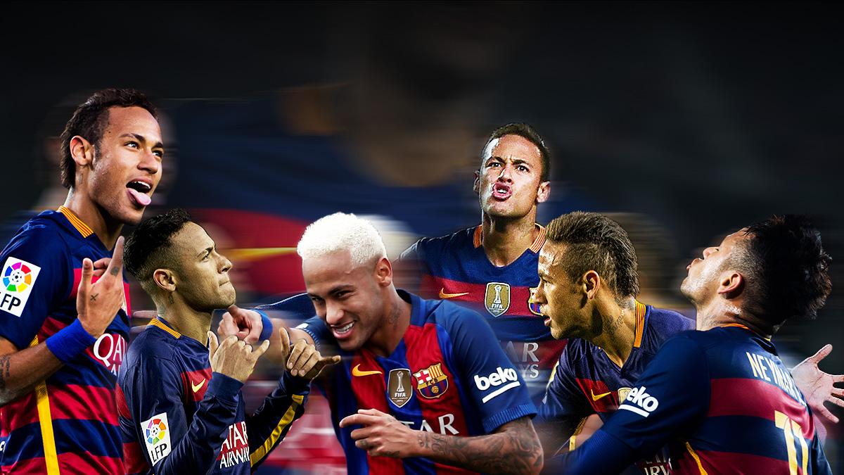 Las seis provocaciones y actitudes más chulescas de Neymar