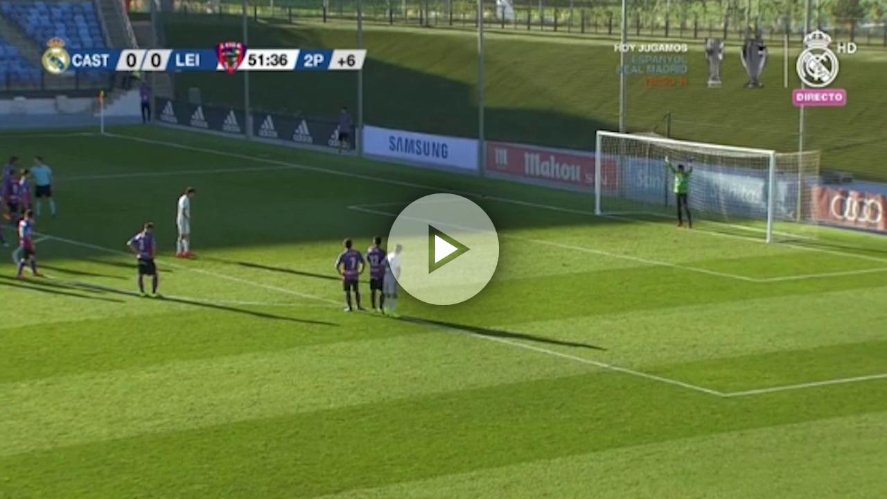 Enzo no se puso nervioso: perfecta ejecución en el penalti de la victoria