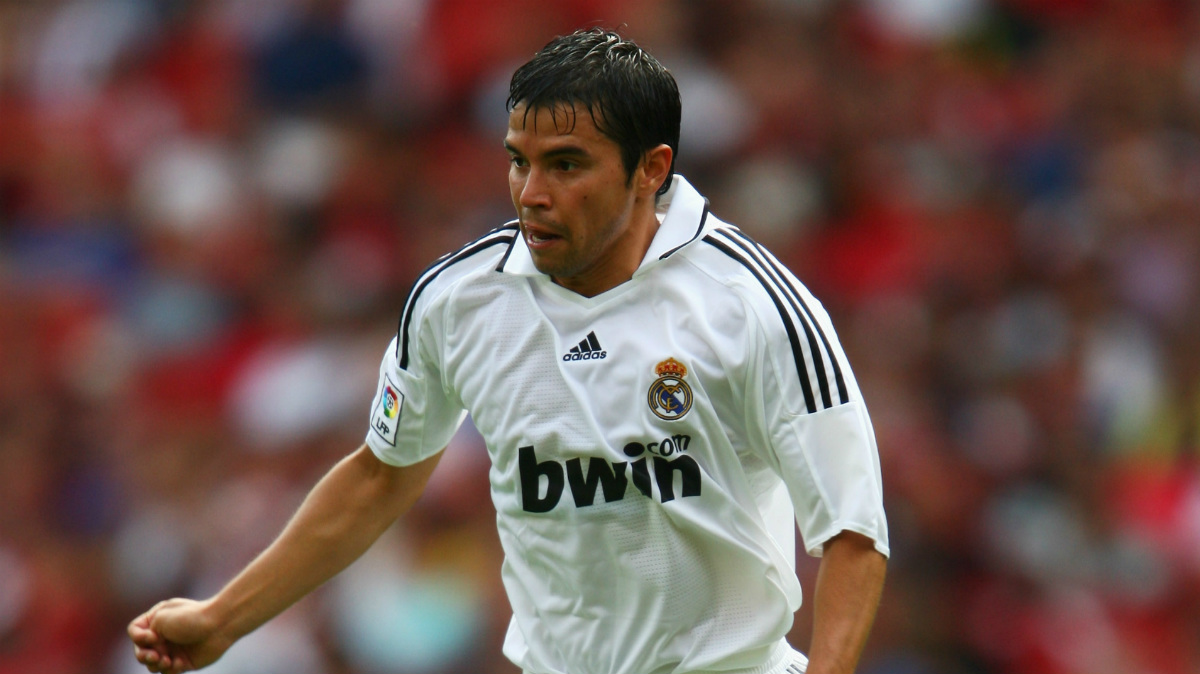 Javier Saviola disputó dos temporadas en el Real Madrid.
