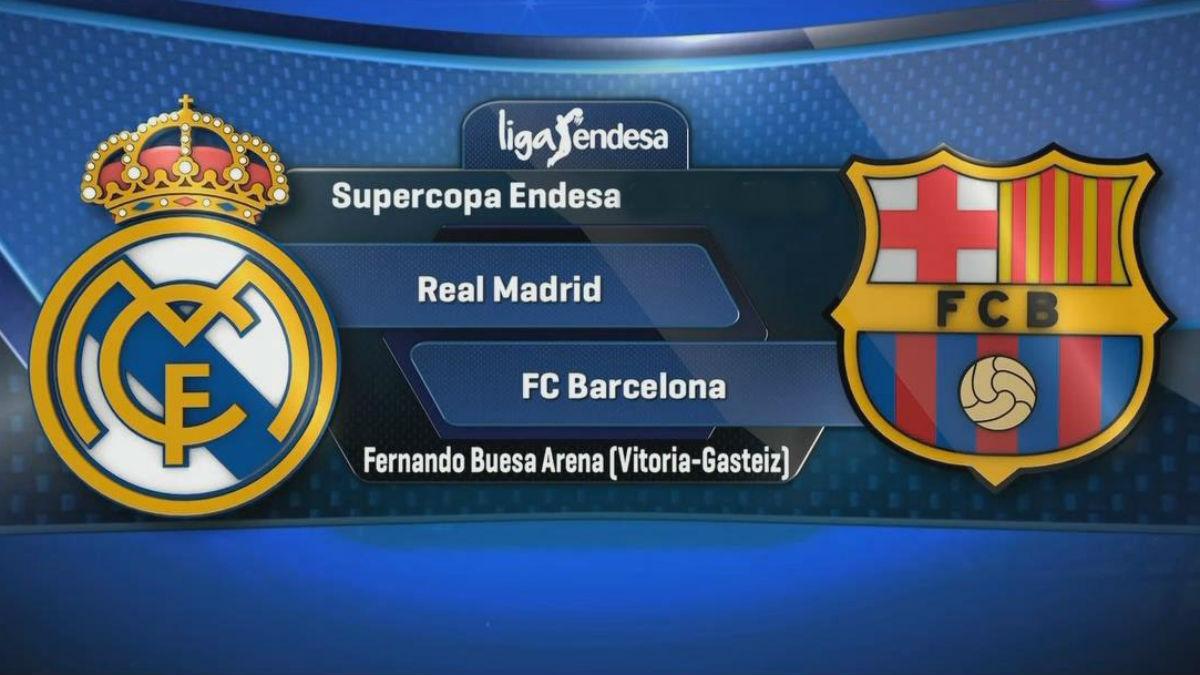 Real Madrid Vs Barcelona: duelo por la final de la Supercopa.