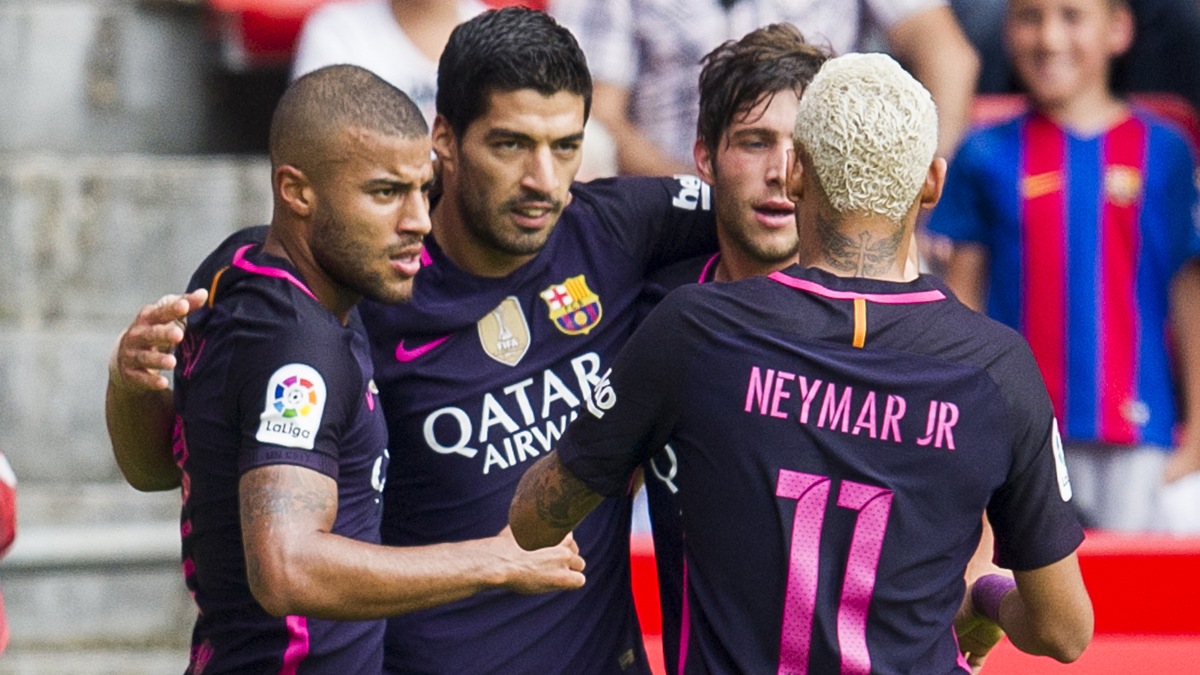 El Barcelona gana andando a un Sporting entregado a la causa (0-5)