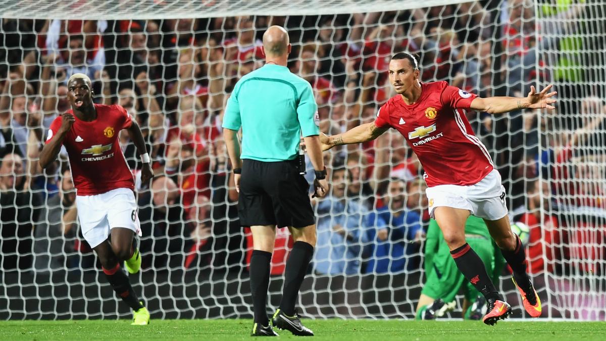 Ibrahimovic y Pogba celebran un gol. (Getty)