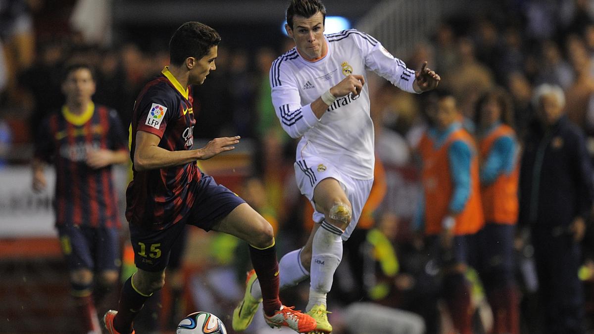 Bartra se libra de su pesadilla Bale