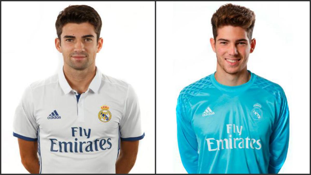 Enzo y Luca Zidane en la lista B de la Champions.