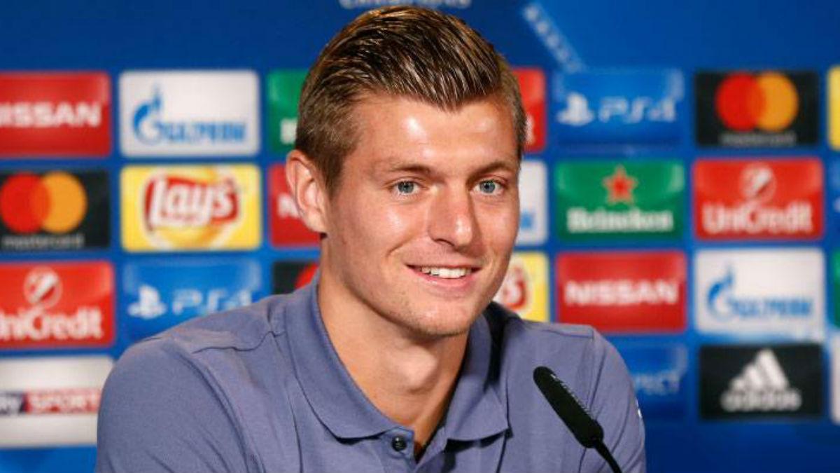 Kroos, en rueda de prensa. (Realmadrid.com)