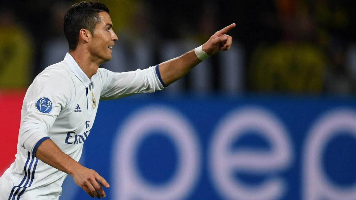 Cristiano Ronaldo celebra el 1-0. (Reuters)