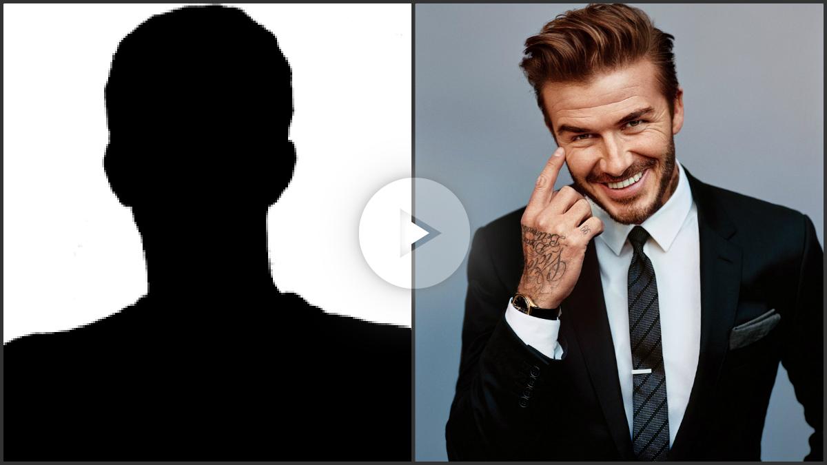 Se quería parece a Beckham y le destrozan la cara.