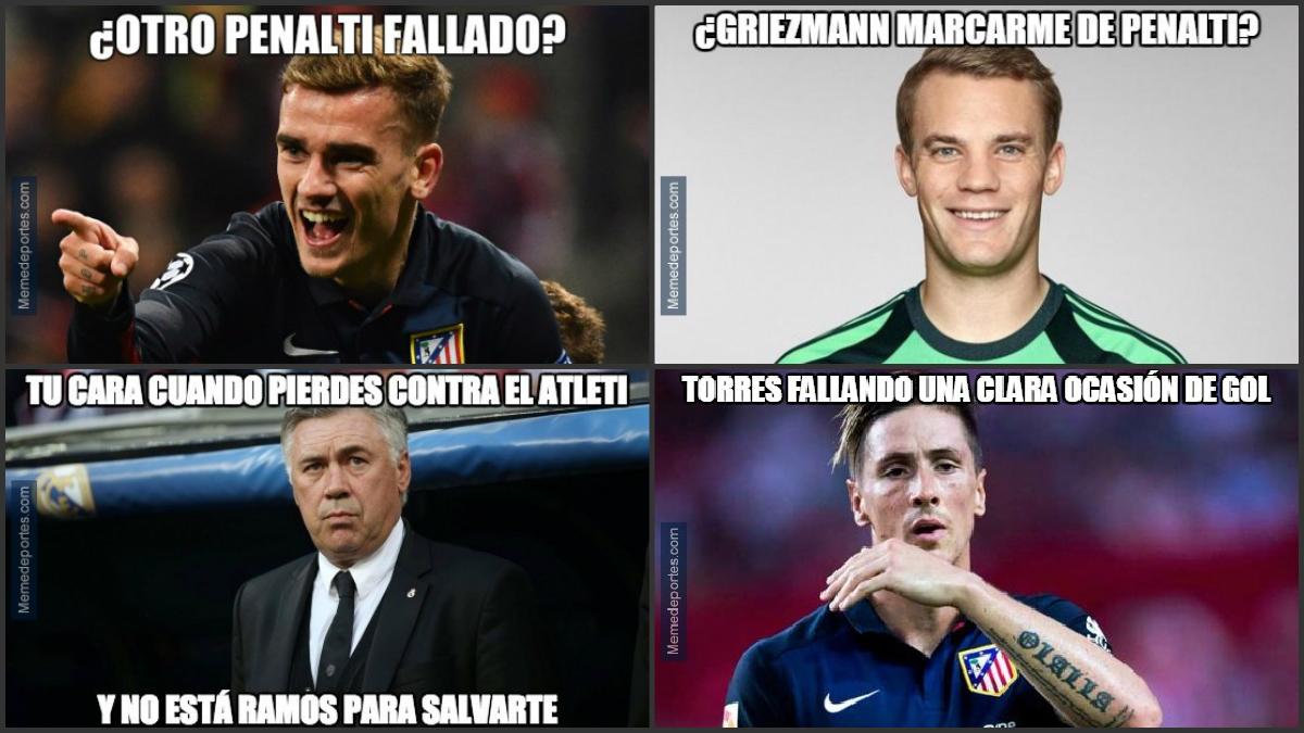 Los mejores memes del Atlético de Madrid Vs Bayern de Múnich.