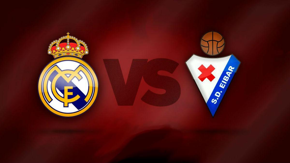 Real Madrid Vs Eibar.