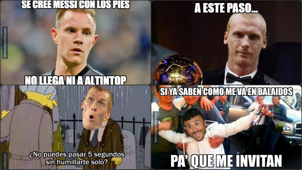 Algunos de los mejores memes del Celta vs Barcelona.