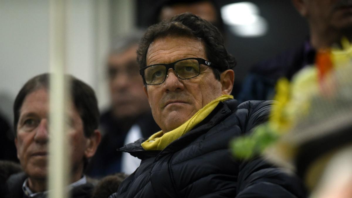 Fabio Capello ha dirigido al Real Madrid en dos etapas. (Getty)