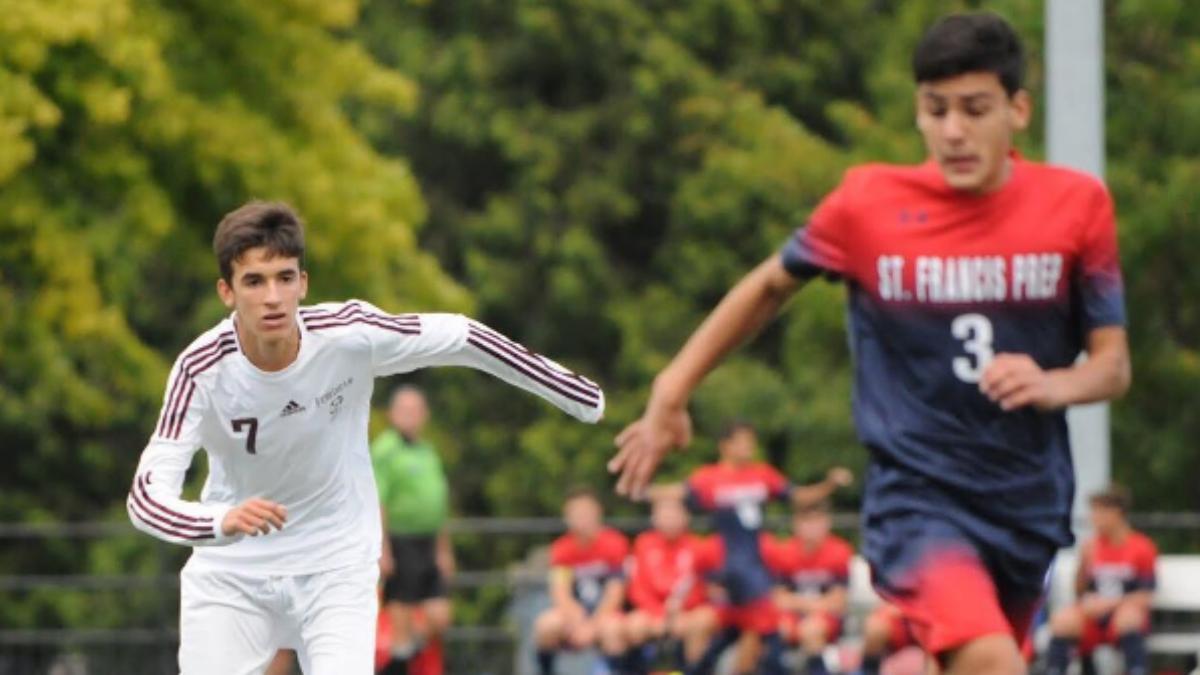 El hijo de Raúl González ya deslumbra en el fútbol americano. (Instagram)