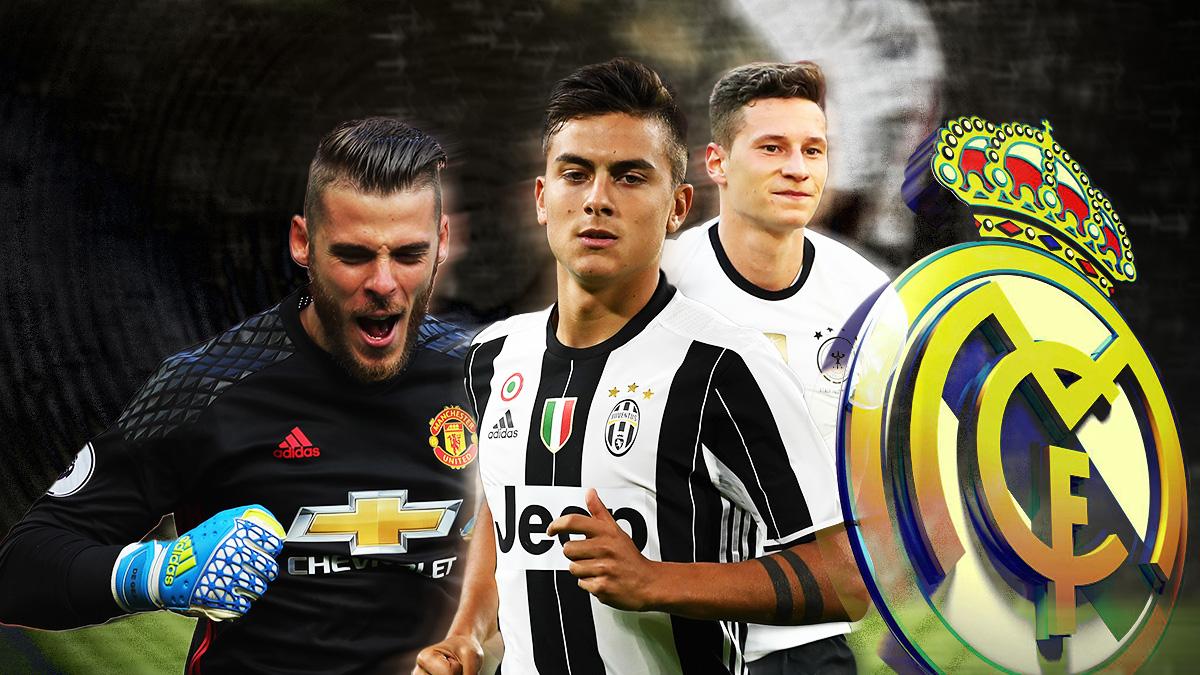 Los tres grandes objetivos del Real Madrid.