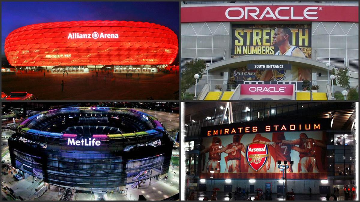 Estos son algunos de los estadios con apellidos más conocidos.