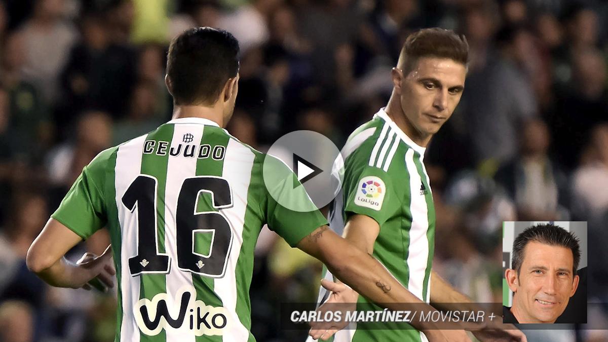 Otro 'lapsus' de Carlos Martínez: «¡Cejudo adelanta… marca para el Betis!»
