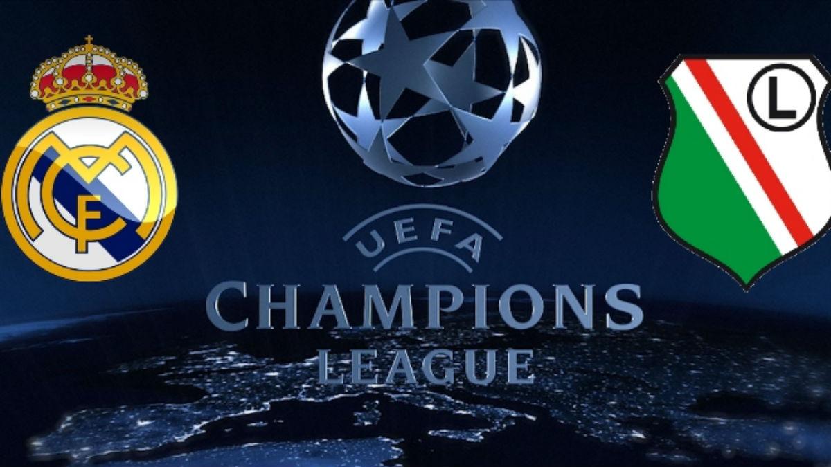 Real Madrid Vs Legia Varsovia.