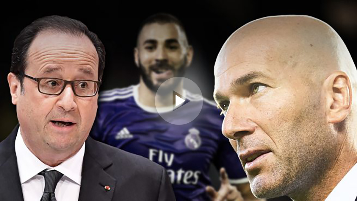 Zidane: «Me molestan las declaraciones de Hollande»
