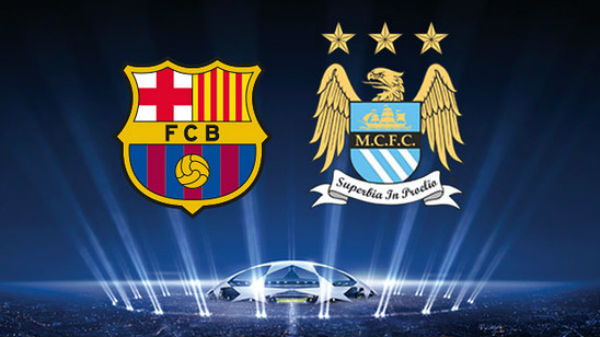 Barcelona Vs Manchester City.