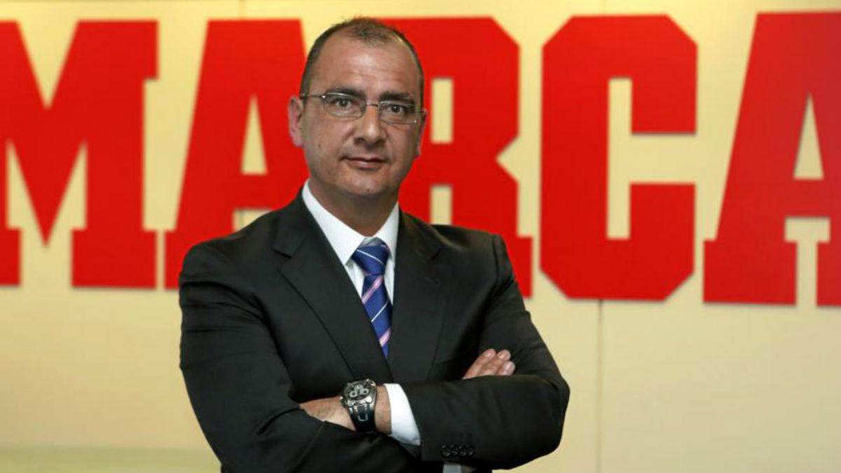 El director de Marca, Juan Ignacio Gallardo. (Foto: Marca.com)