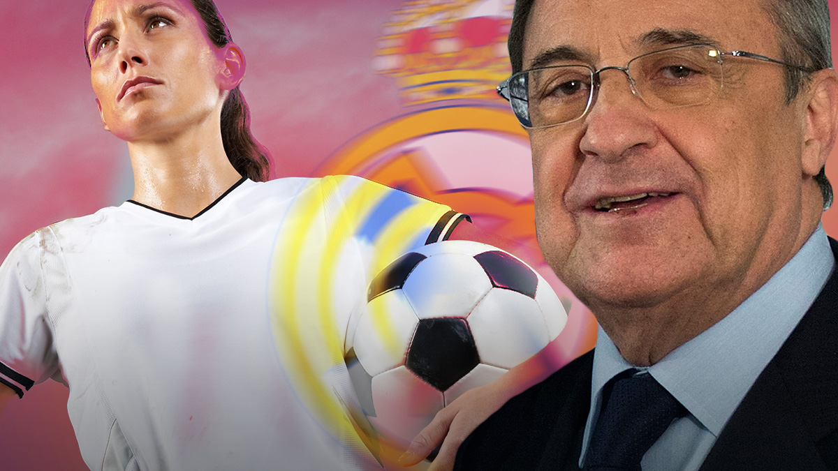 Florentino Pérez se plantea la opción de un equipo de fútbol femenino.