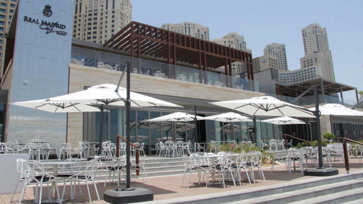 El Real Madrid ya ha cosechado éxito en su restaurante en Dubai.