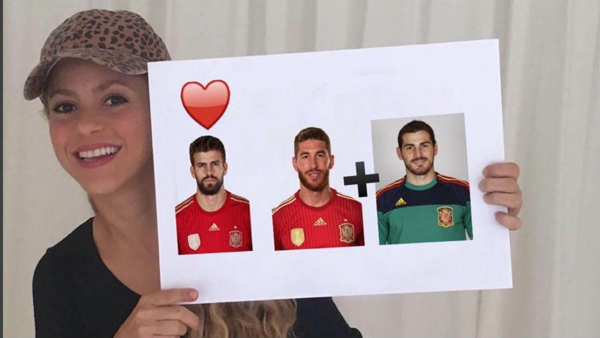 El enigmático mensaje de Shakira. (Shakira)