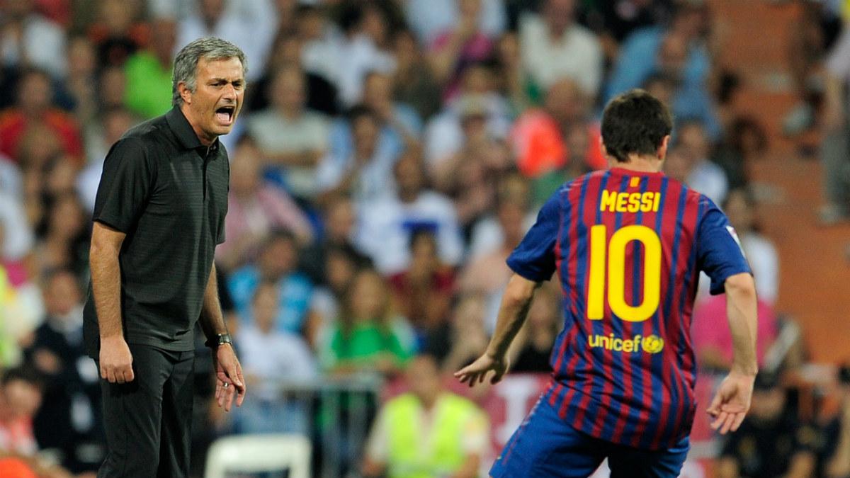 Mourinho ha vuelto a mostrar su admiración por Messi. (AFP)
