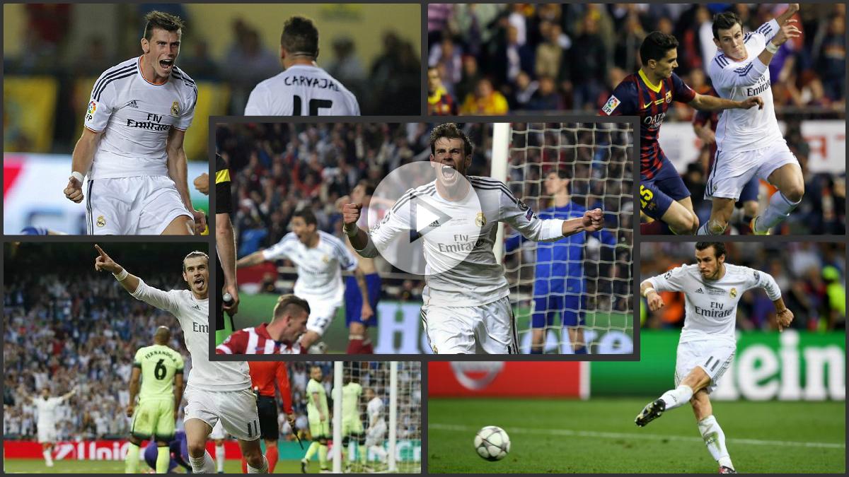 Repasamos los cinco mejores momentos de Bale como madridista.