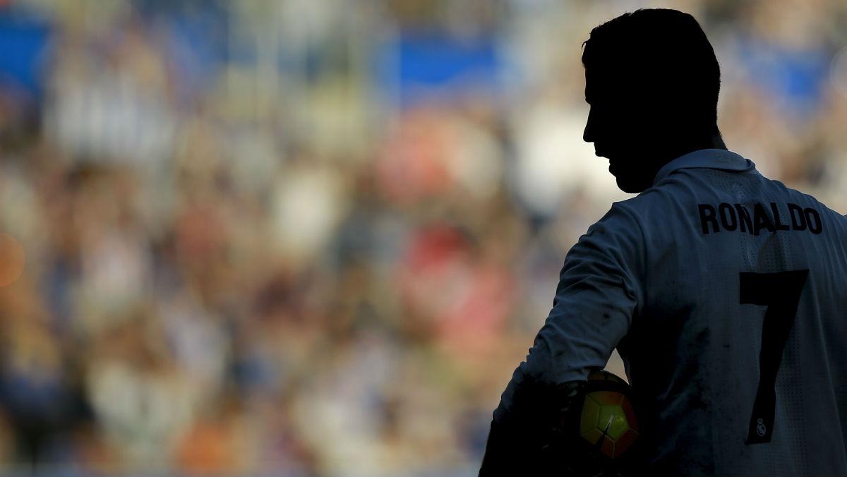 Cristiano durante el Alavés-Real Madrid. (Getty)