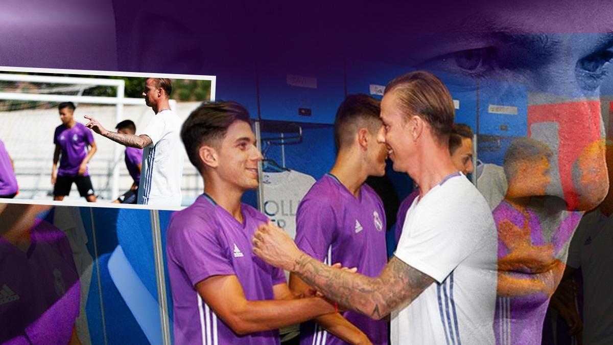 Guti sigue el camino de Zidane.