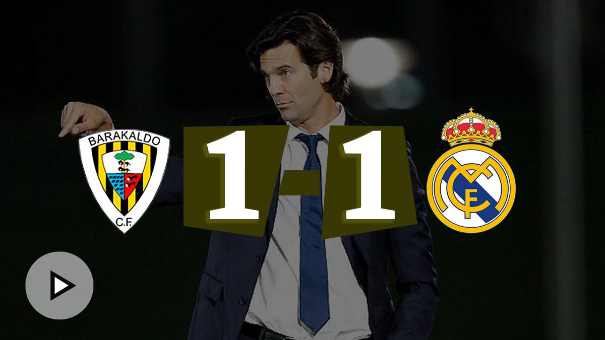 El Castilla pierde dos puntos en el último minuto.