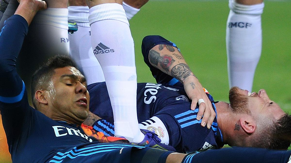 El Real Madrid espera la pronta recuperación de Sergio Ramos y de Casemiro.