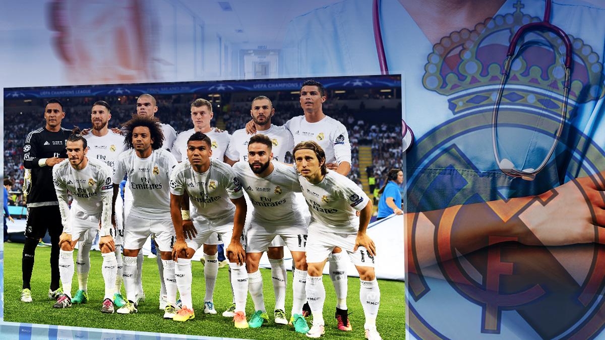 El once de gala del Real Madrid al completo ya se ha lesionado esta temporada